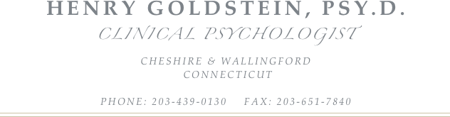 Henry Goldstein, psy.d.
